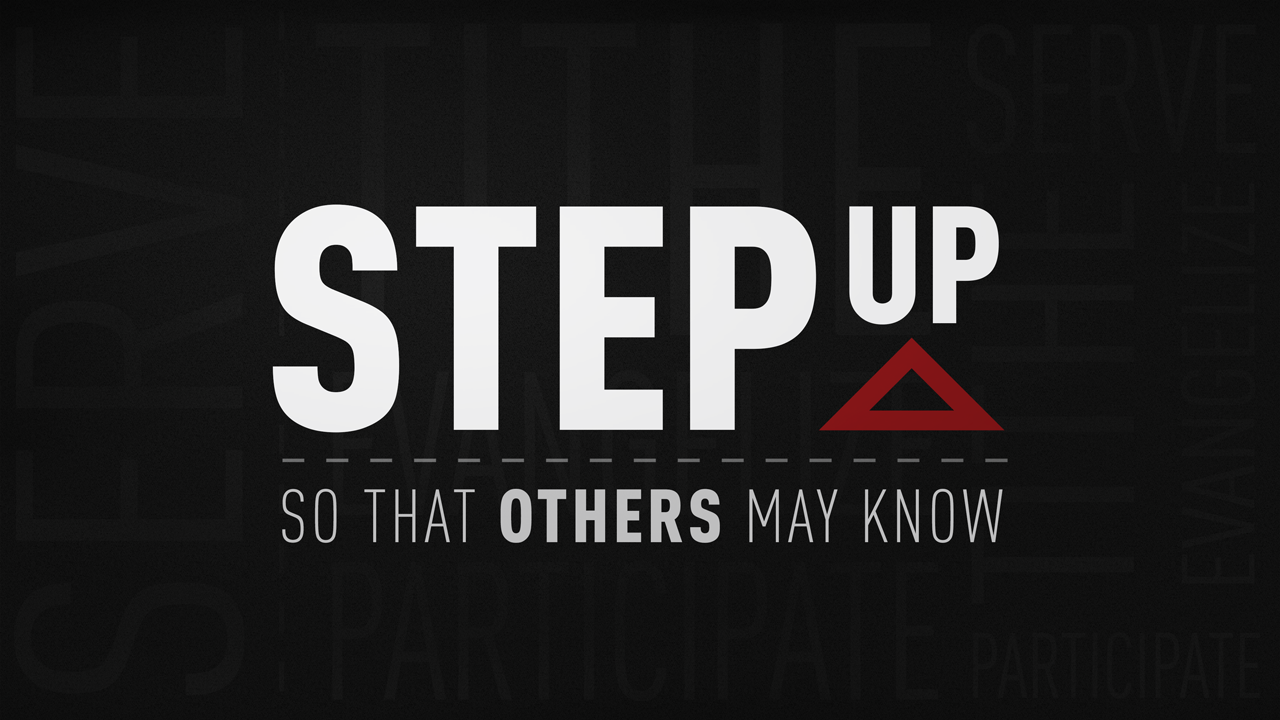 Step Up So That Others May Know – Church Sermon Series Ideas