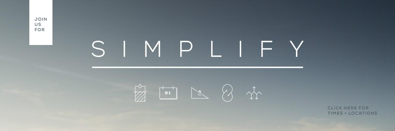 Simplify – Church Sermon Series Ideas