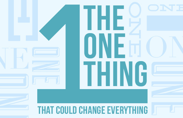 The One Thing that Could Change Everything – Church Sermon Series Ideas