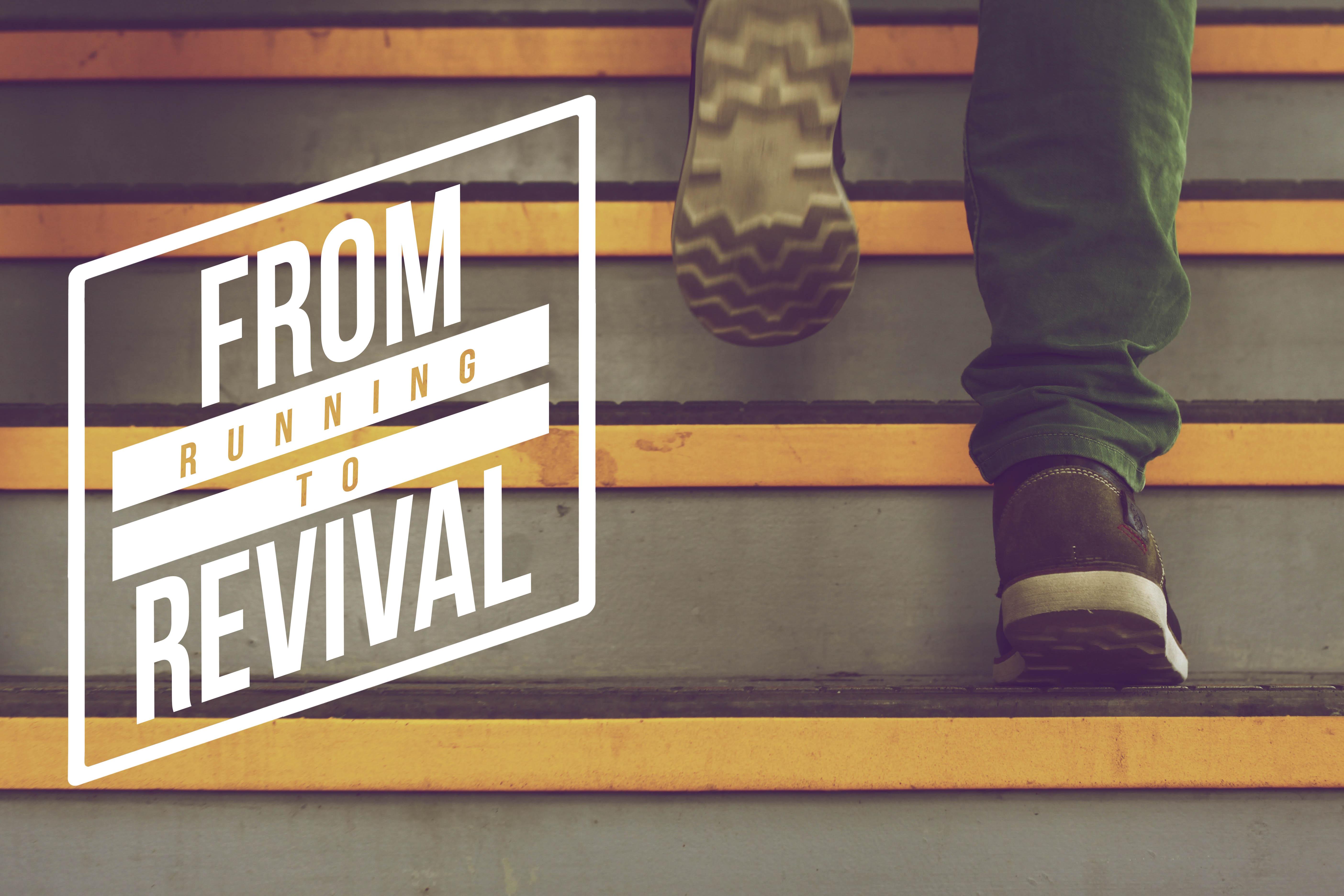 From Running to Revival Sermon Series Idea – Church Sermon