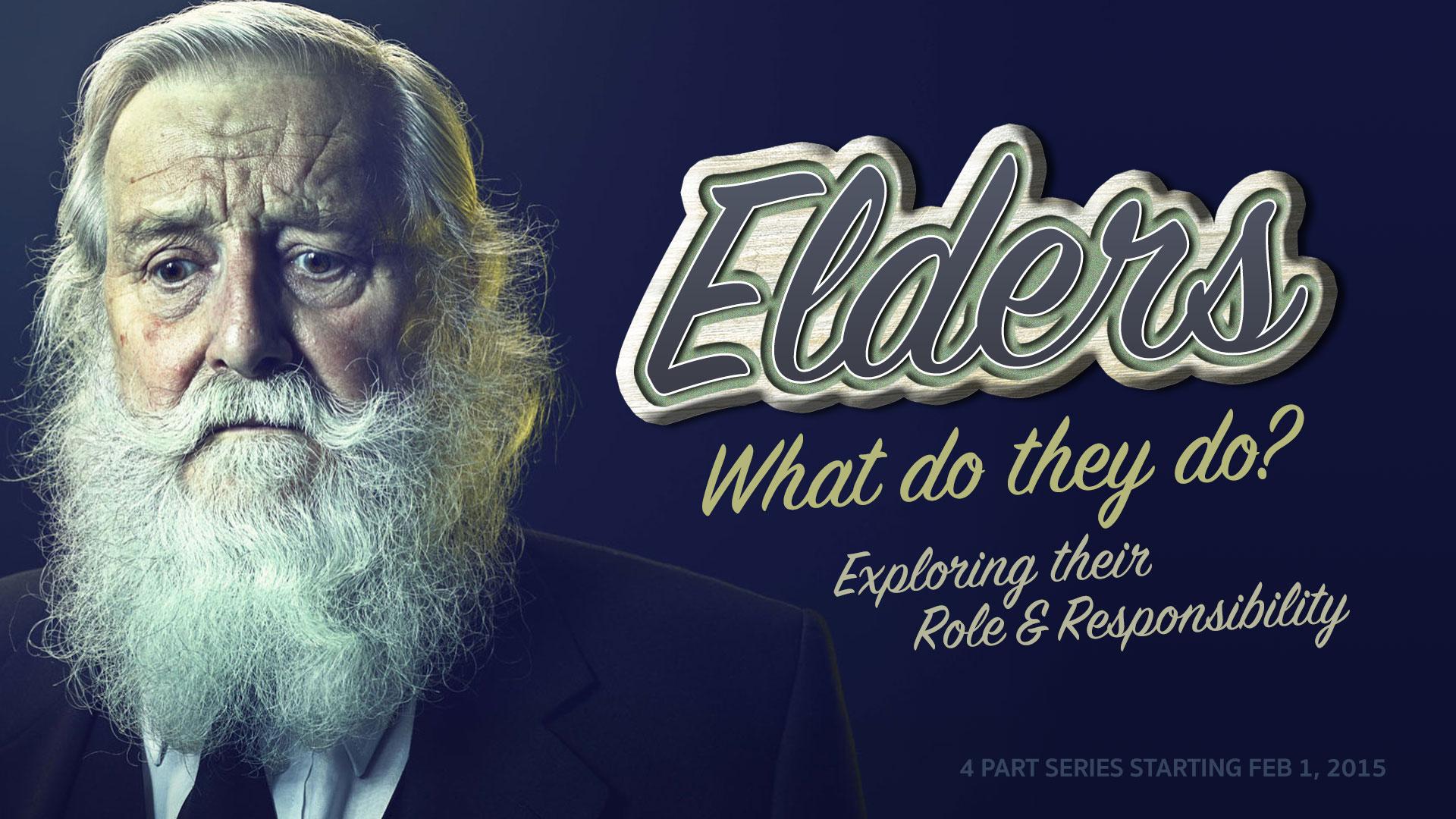 Elders Church Sermon Series Ideas