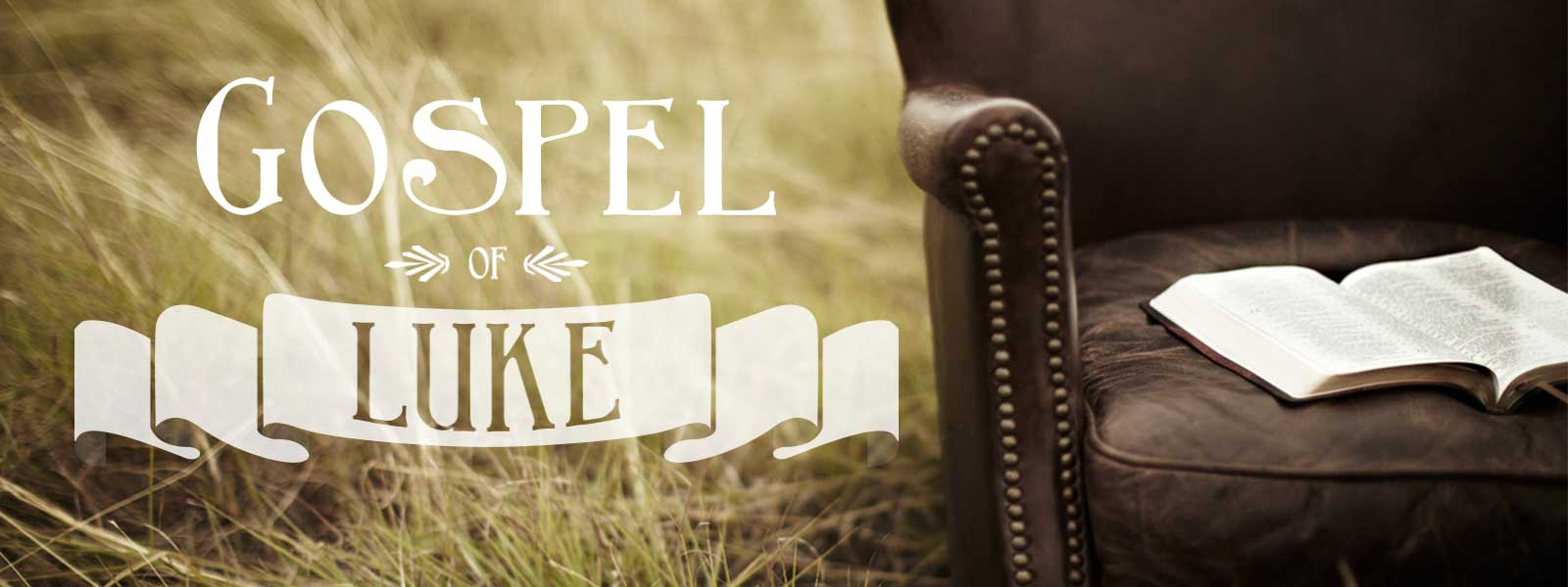 Gospel of Luke – Church Sermon Series Ideas