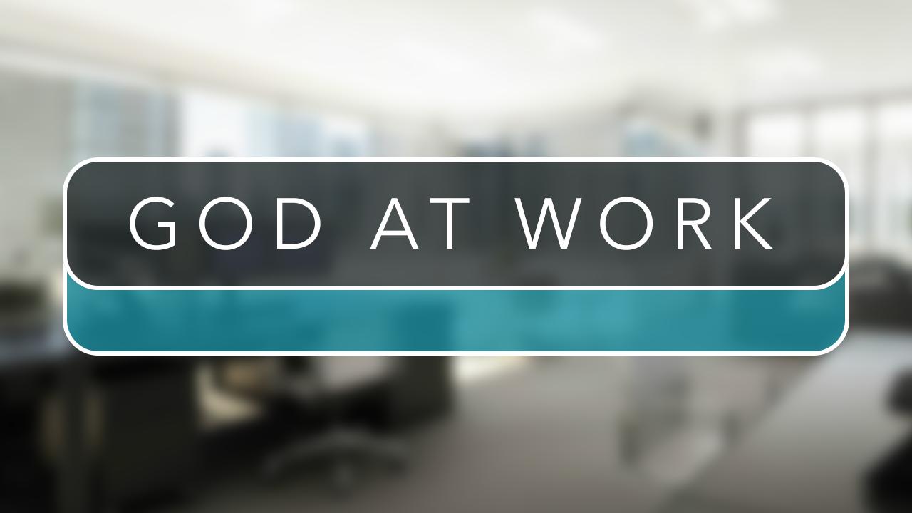 God At Work Church Sermon Series Ideas