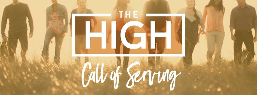The High Call of Serving Sermon Series Idea
