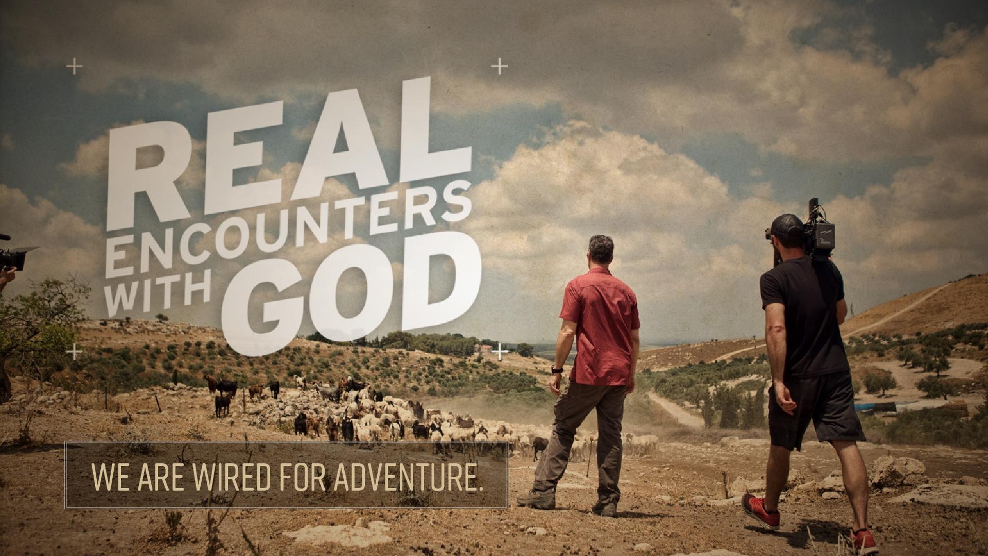 Real Encounters With God Church Sermon Series Ideas