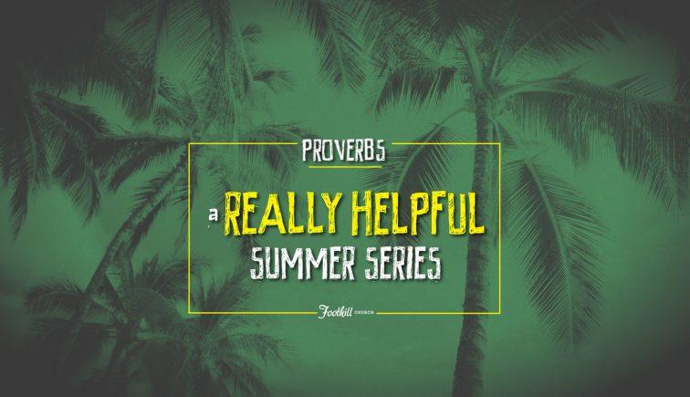 A Really Helpful Summer Series Sermon