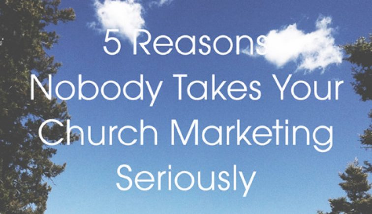 Church-Marketing-Seriously