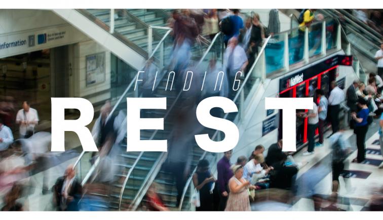 Finding Rest Sermon Series Idea