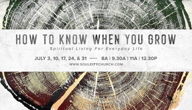 How to Know When You Grow Sermon Series Idea
