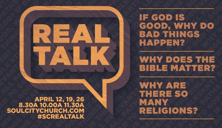 Real Talk Sermon Series Idea