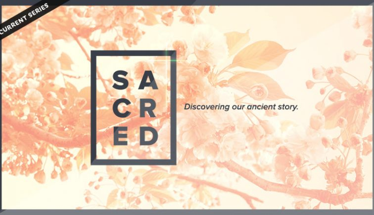 Sacred Sermon Series Idea