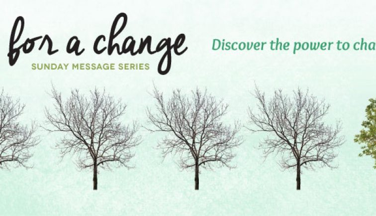 Time for a Change Sermon Series Idea