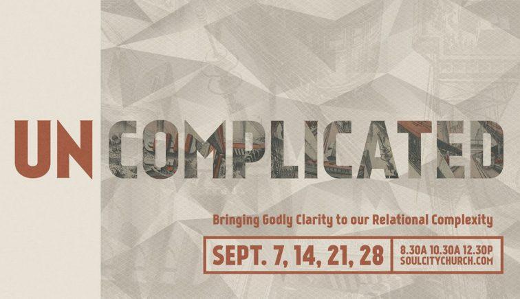 Uncomplicated Sermon Series Idea